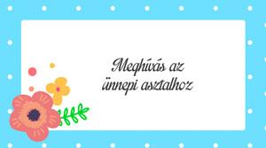 Eskuvoi Meghivo KSO43