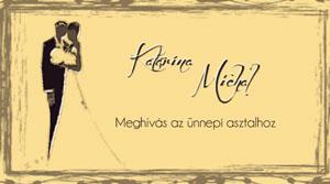 Eskuvoi Meghivo SSO27